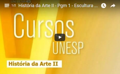 Cursos UNESP – História da Arte II